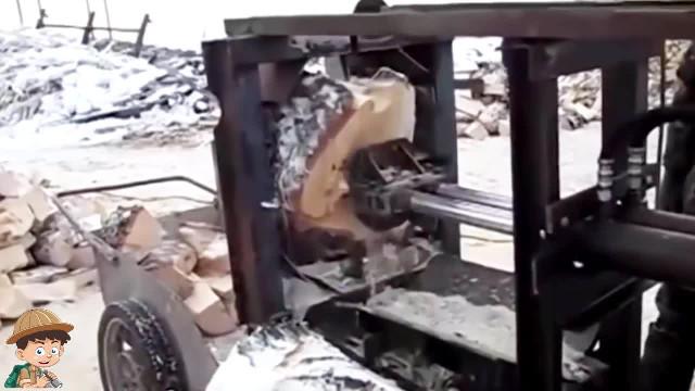 Những cỗ máy cắt gỗ hiện đại