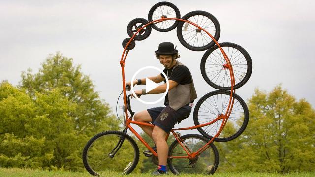 Những chiếc xe đạp kì dị nhất hành tinh