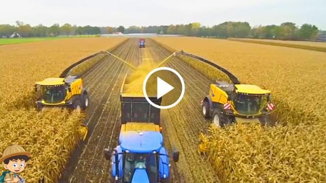 Những cỗ máy nông nghiệp hiện đại