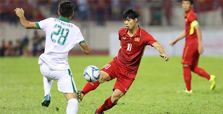 U22 Việt Nam - U22 Indonesia, lượt 4 bảng B bóng đá nam SEA Games 29