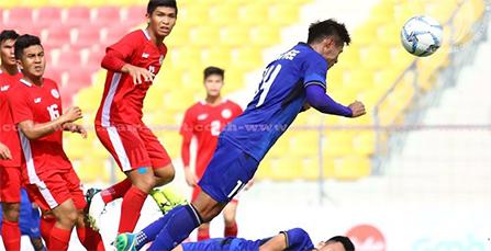U22 Thái Lan - U22 Phillippines, lượt trận thứ 4 bảng B bóng đá nam SEA Games 29