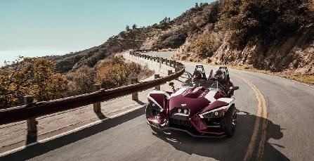 Polaris Industries giới thiệu chiếc xe ô tô 3 bánh hiện đại phong cách người dơi