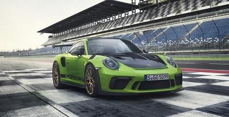 Porsche lộ diện bản nâng cấp Porsche 911 GT3 RS