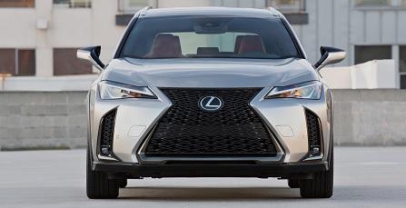 Lexus UX 2019 - đối thủ mới của BMW, Audi