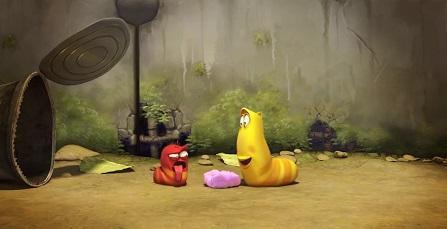 Ấu trùng tinh nghịch Larva - Phim mới 2018 - tập 11: Kẹo cao su