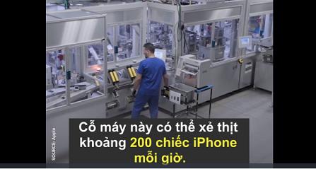 Apple xẻ thịt lại chiếc Iphone cũ của bạn như thế nào