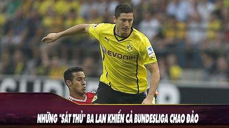 Những sát thủ Ba Lan khiến Bundesliga chao đảo