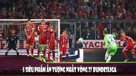 5 siêu phẩm ấn tượng nhất Bundesliga mùa này