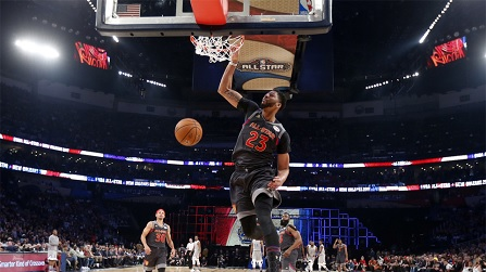 Những cú úp rổ hay nhất tuần 24 NBA