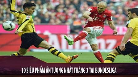 10 siêu phẩm ấn tượng nhất Bundesliga