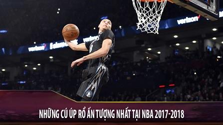 Những cú úp rổ hay nhất NBA mùa 2017-2018