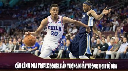 Cận cảnh pha Triple Double ấn tượng nhất lịch sử NBA