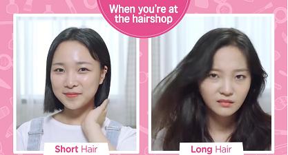 Video này sẽ khiến phái nữ hoang mang chọn tóc ngắn hay dài