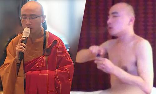 Nhà sư Đài Loan sa đoạ quay video sex, sử dụng ma tuý và ăn thịt