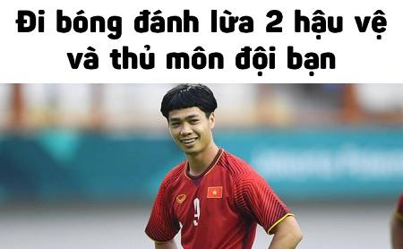 Pha bóng Công Phượng trong trận Việt Nam - Philippiines: Lừa 2 hậu vệ, thủ môn và 90 triệu CĐV nước nhà
