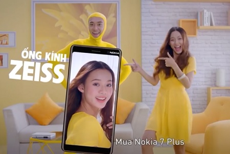 Nokia 7 plus TVC - Personalize Video for Nhật