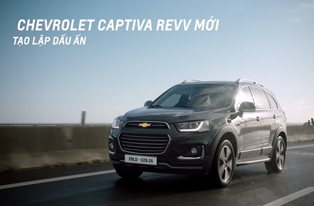 Chevrolet Captiva Revv TVC - Personalize video for Nam
