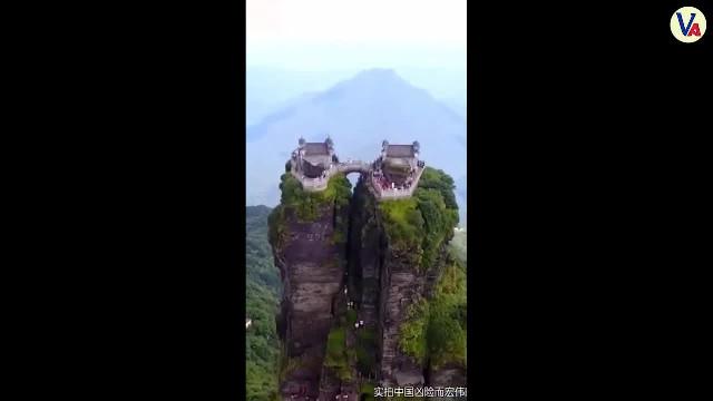 Chiêm ngưỡng vẻ đẹp núi non hùng vĩ