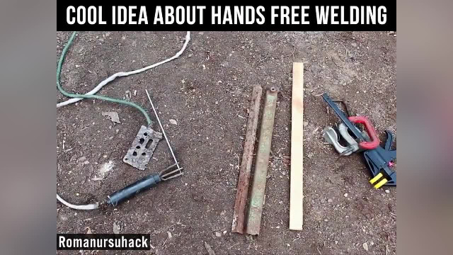 Hands Free welding when you start to wonder how to work smarter, not harder