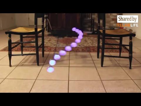 Hiệu ứng sóng CON LẮC cho không gian nội thất